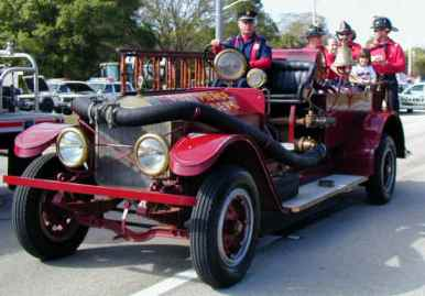 Historic Fire Vehicle